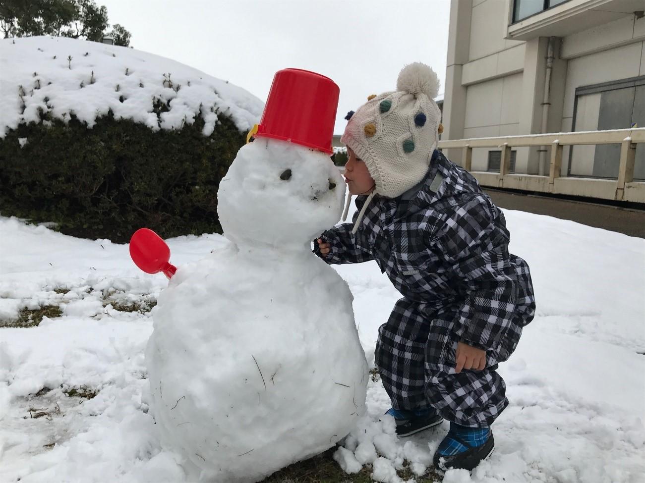 ない 雪が 今年 は 降ら